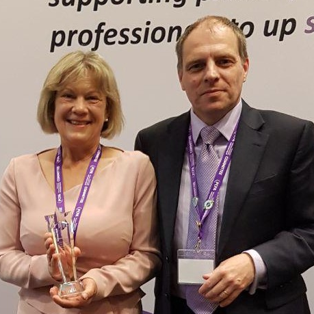 Dr Graham Stretch appointed PCPA President