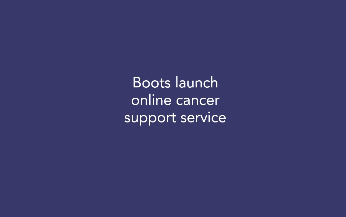 Boots launch online cancer support service