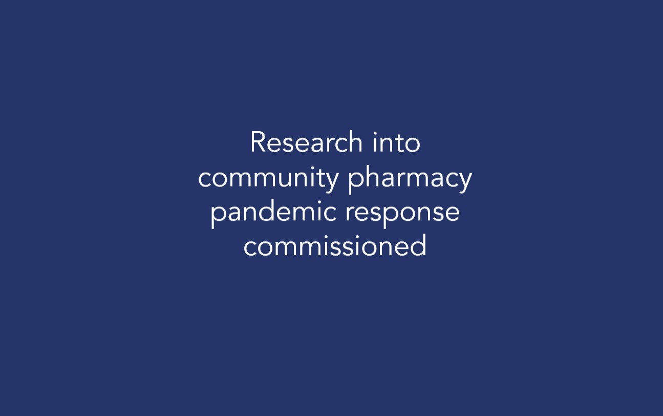Research into community pharmacy pandemic response commissioned