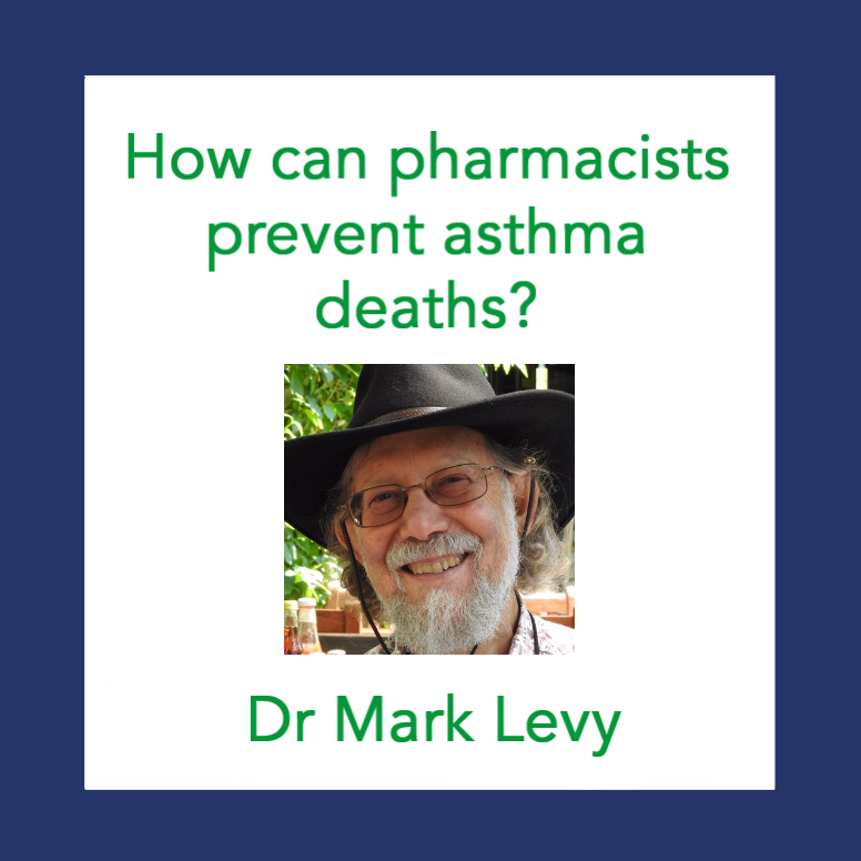 📺 On demand: Dr Mark Levy: How can pharmacists prevent asthma deaths?