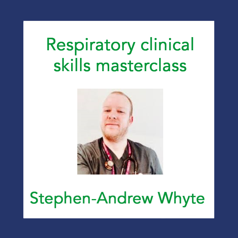 📺 On demand: Common clinical conditions – Respiratory clinical skills masterclass