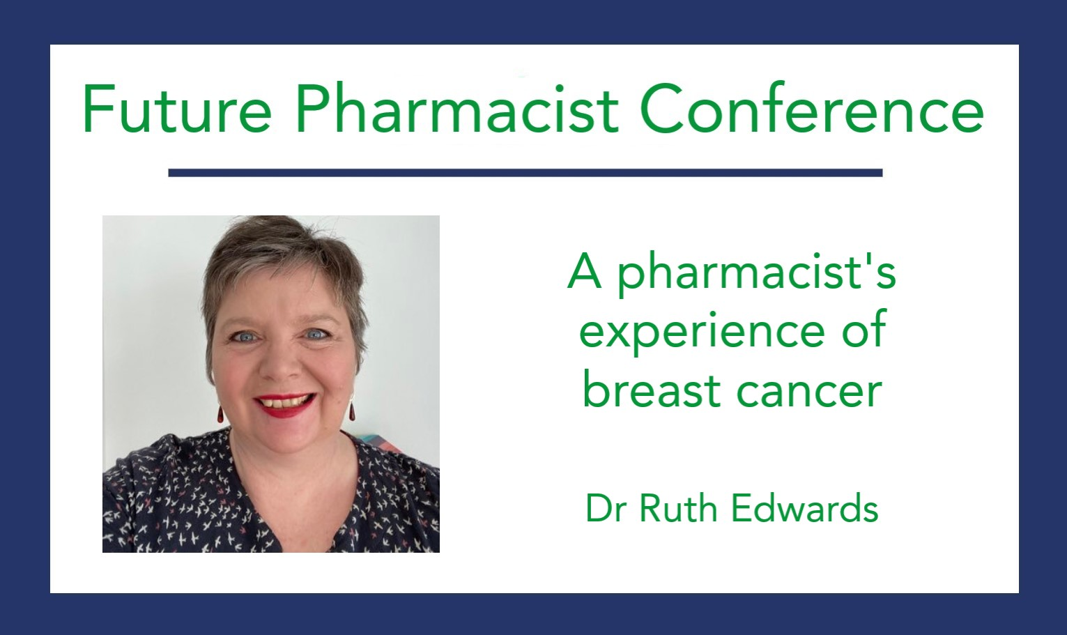 A pharmacist's experience of breast cancer
