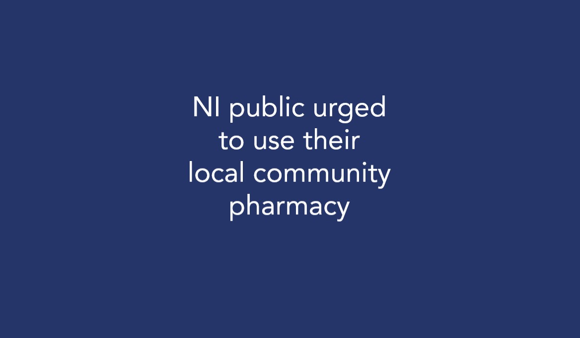 NI public urged to use their local community pharmacy