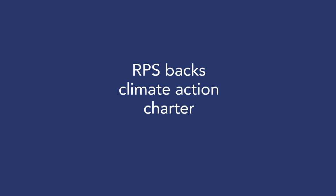 RPS backs climate action charter